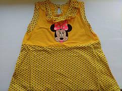 Платье детское с Микки Маусом на рост 89-98см