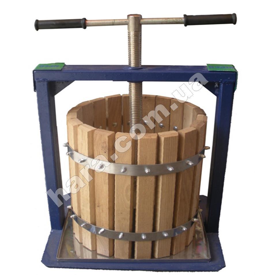 Пресс ручной для сока Вилен 20 л(дубовый)