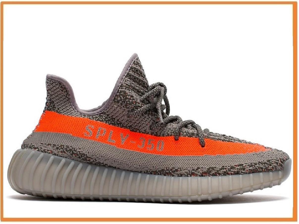 49c2ab0f Мужские кроссовки Adidas Yeezy Boost 350 V2 Beluga (адидас изи 350, серые /  оранжевые) 43, цена 1 400 грн., купить в Киеве — Prom.ua (ID#919676921)