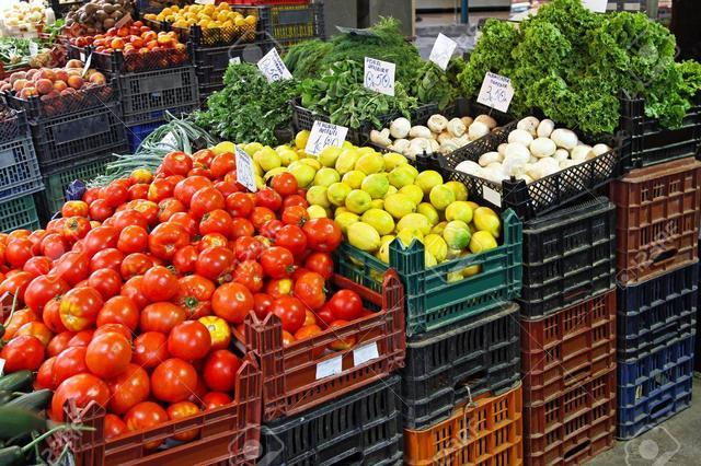 Пластиковые ящики для продуктов питания