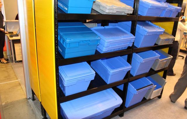 Пластиковые вкладываемые контейнеры