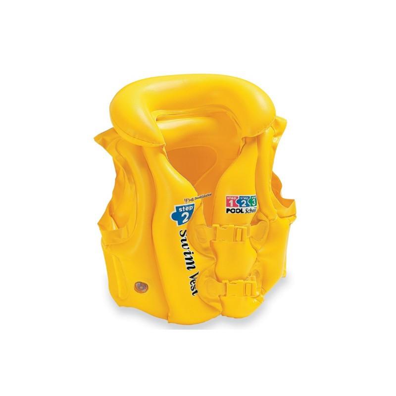 Надувной жилет Intex 58660 Желтый 49х46см