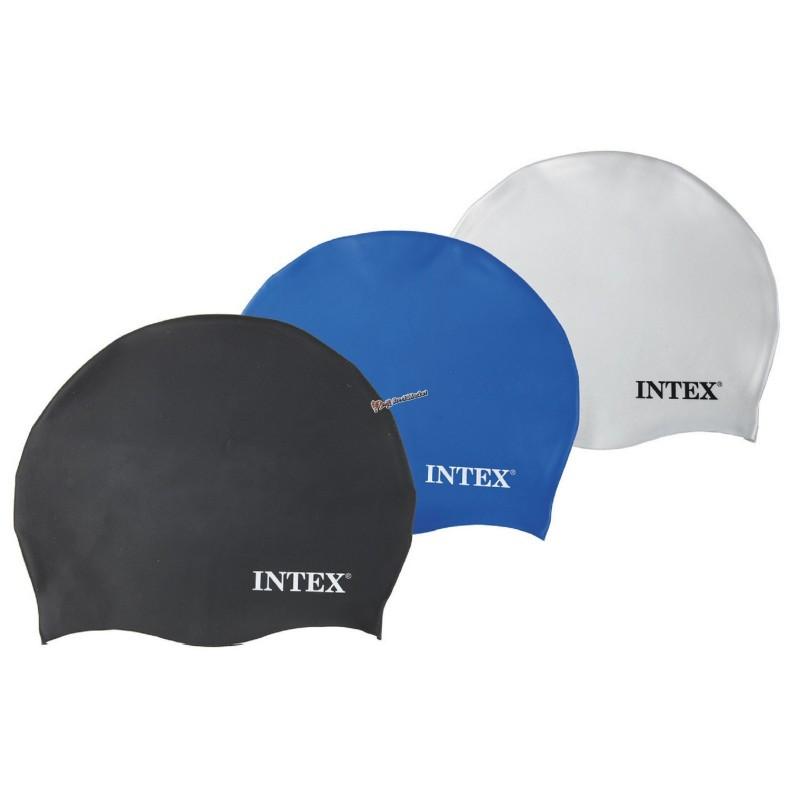 Шапочка для плавания Intex 55991 универсальная 3 цвета