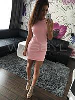 Стильное летнее платье без рукав