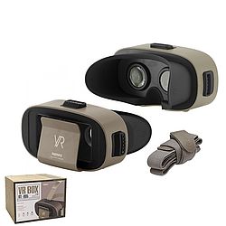 Окуляри віртуальної реальності Remax Resion VR Box RT-V04 4.7 - 5.22 дюйма Brown