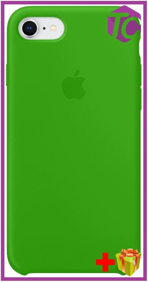 reputable site d9df8 82ba9 Чехол Apple iPhone 8 Silicone Case (OEM) - Marine Green - Bigl.ua