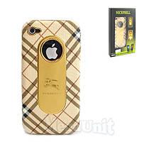 Nicephill Гламурный чехол для Apple iPhone 4 #Burberry begue, фото 1