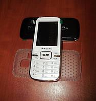Samsung S 4 Dual sim кнопочный самсунг моноблок на 2 сим карты +чехол в подарок