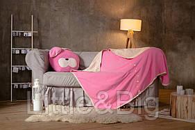 Комплект детский плед  с подушкой Зайка S