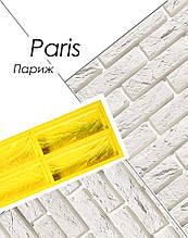 Полиуретановая форма Париж для плитки из гипса кирпича декоративного