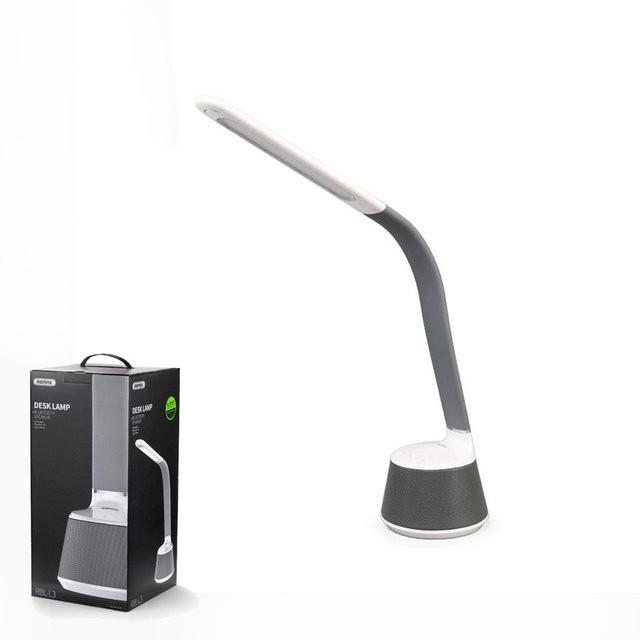 Настольная LED лампа + Bluetooth колонка Remax  RBL-L3 White