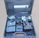 Шуруповерт аккумуляторный Элпром ЭДША-18-2 Li(автостоп), фото 2
