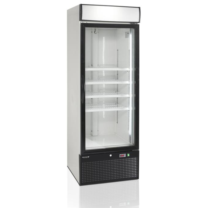 Морозильный шкаф со стеклом Tefcold NF2500G-P