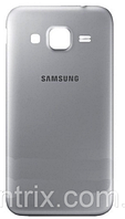 Задняя крышка для Samsung G360H Galaxy Core Prime/G361F, серебристая