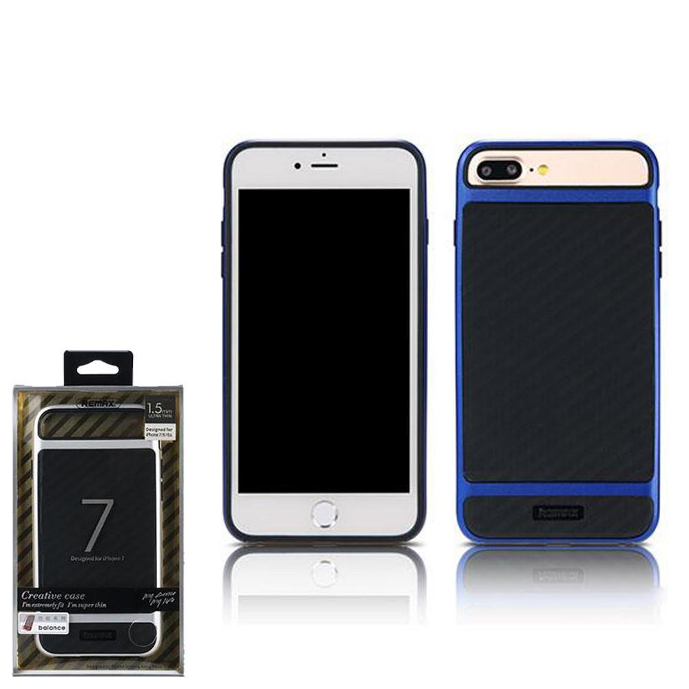 Чехол Remax Balance Series Case для iPhone 7 plus Blue