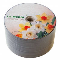 LS-MEDIA DVD+R 4.7Gb 16x bulk 50 НАРЦИСЫ