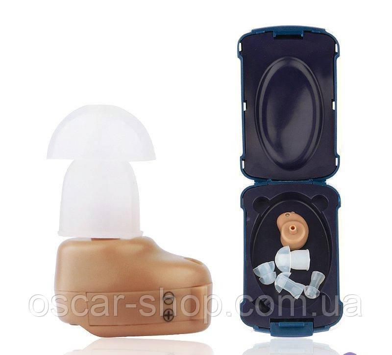 Внутрішньовушний слуховий апарат (підсилювач слуху) «Axon K-80»