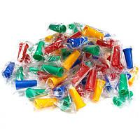 Одноразовые универсальные мундштуки для кальяна 100шт/упаковка цветные