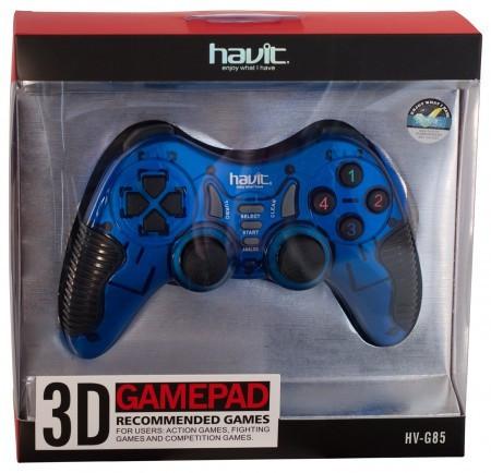 Джойстик игровой HAVIT HV-G85 USB  синий