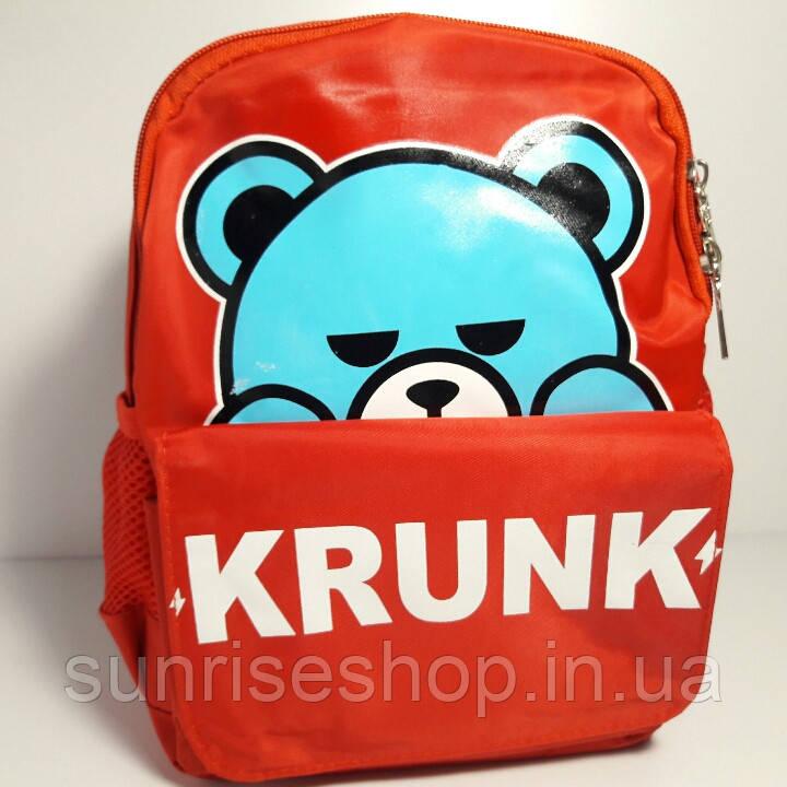 ad94dc6de840 Рюкзак детский для девочки с наружным карманом красный - Sunriseshop  косметички клатчи детские сумочки ...