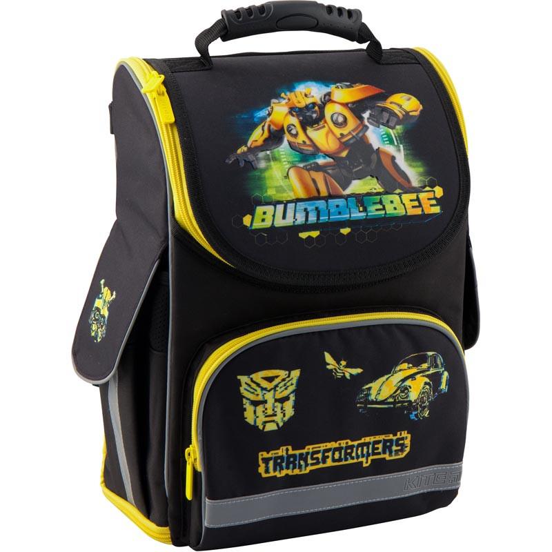546a08c587e4 Рюкзак школьный трансформер Kite Education Transformers BumbleBee Movie  (TF19-500S)