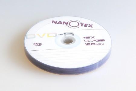 Nanotex DVD-R 16x bulk 10