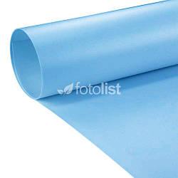 Фон для съёмки голубой Visico PVC-7013 Blue (70x130см)