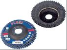 Гибкие лепестковые диски для снятия заусенцев и удаления краски и ржавчины  NORTON