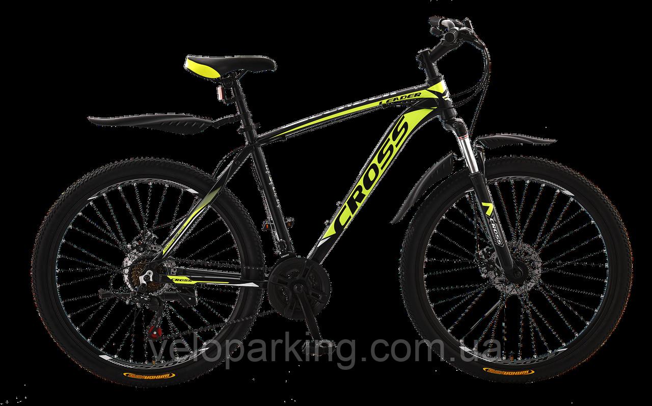 Горный алюминиевый велосипед Cross Leader 27.5 (2019) new