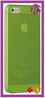 Чехол Ozaki O!coat 0.3 Jelly Green for iPhone 5/5S/SE (OC533GN)