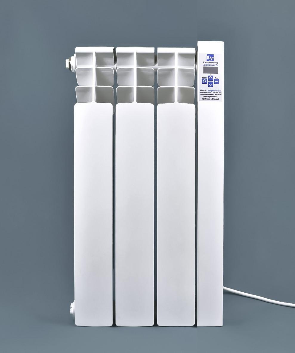Электрический радиатор ОптиМакс  STANDARD на 3 секции 360 Вт