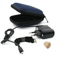 Внутриушной слуховой аппарат AXON K-88 с зарядкой и аккумулятором