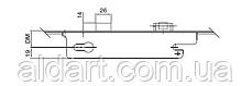 Замок-рейка с роликом 2000 мм., 35/92 (2000-2200), фото 3