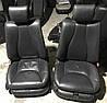 Сиденья переднее черная кожа s-class w220