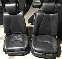 Сиденья переднее черная кожа s-class w220 , фото 1