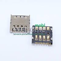 Коннектор sim LG E980/E985/D724