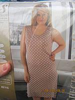 Ночная рубашка женская широкая брителька батал