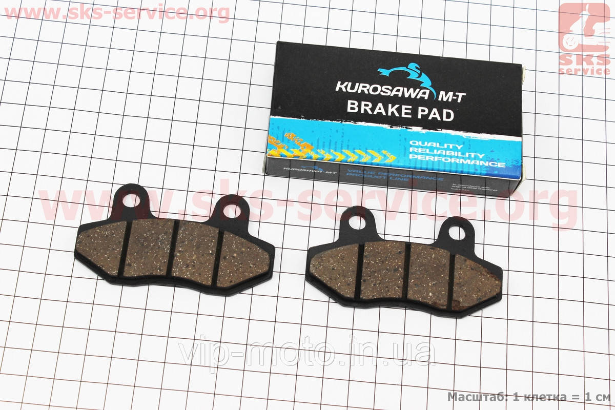 Тормозные колодки передние дисковые Honda LEAD AF48
