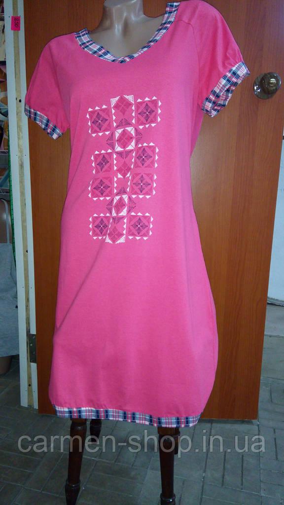 Платье 100% хлопок МТФ 0405ПВ