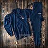 Олімпійка і штани Fila Філа темно синій спортивний костюм (РЕПЛІКА)