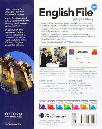 English File Fourth Edition Pre-Intermediate Student's Book with Online Practice, фото 2