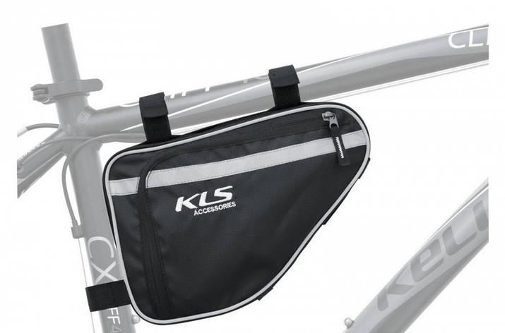 Сумка під раму KLS Maya (об`єм 2.3-3.8 л), фото 2