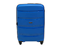 Облегченный большой чемодан-тележка 95 л Airtex Newline 229 синий