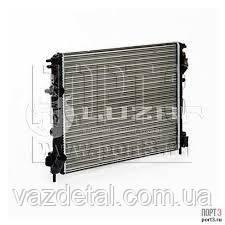 Радиатор двигателя Logan 1.4/1.6 с конд. (до 2008 г.в.) (АТ) 7700428082