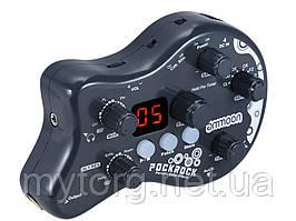Гитарный процессор эффектов Ammoon PockRock  Черный