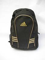 Рюкзак городской adidas золотые вставки