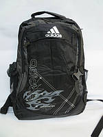 Спортивный рюкзак Adidas серый огонь