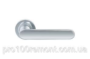 Ручка дверная на розетке GAVROCHE BARIUM MSCB/CP, фото 2
