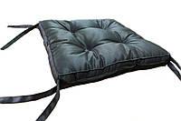 Подушка Dotinem Color на табурет коричневая 40*40*5 см арт.213109-1