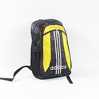 Городской молодежный рюкзак фирмы adidas с желтым